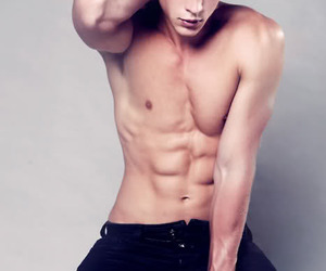 nick roux, boy, and Hot image