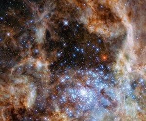 stars and galaxy image