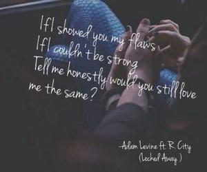 locked away, adam levine, and love image