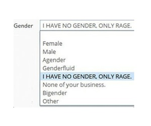 fact, male, and rage image