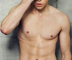 glee, chord overstreet, and Hot image