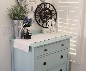 chic, cottage, and decor image