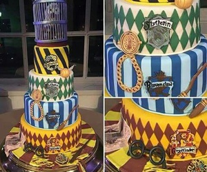 cake and harry potter image