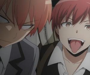 anime, assassination classroom, and karma akabane image