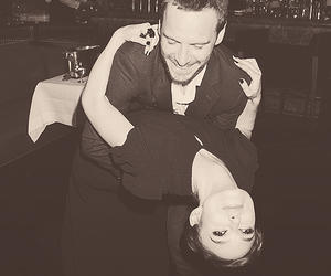keira knightley, michael fassbender, and dance image