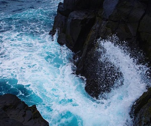 blue, photography, and water image