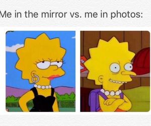funny, mirror, and photo image