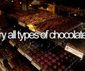chocolate and before i die image