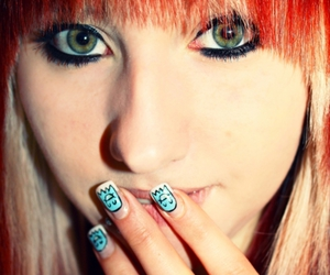 drop dead, girl, and nails image