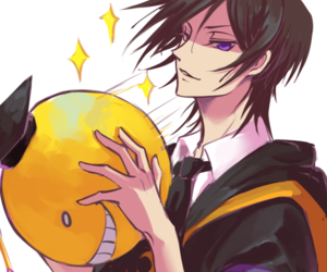 assassination classroom, anime, and code geass image