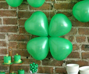 march, party, and shamrocks image