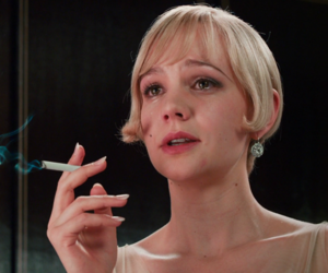 the great gatsby, smoke, and blonde image