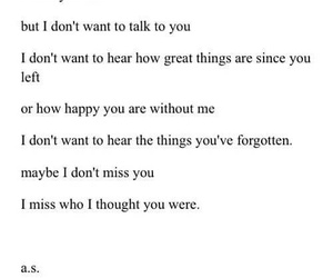 broken heart, i miss you, and quotes image