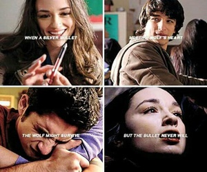 scott, teen wolf, and allison argent image
