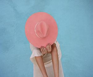 pink and pool image
