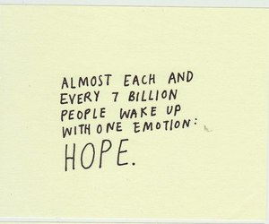 hope, quote, and text image