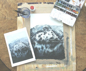 art, watercolour, and weheartit image