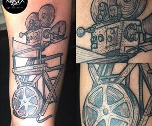 film, tattoo, and 338tattoo image