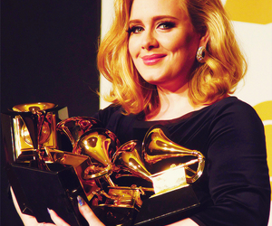 Adele, grammy, and singer image