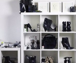accessories, black, and black and white image