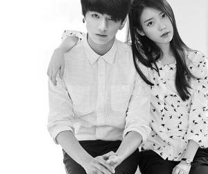 iu, kpop, and hyunwoo image