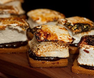 food, smores, and chocolate image
