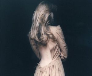 dress, blonde, and clemence poesy image