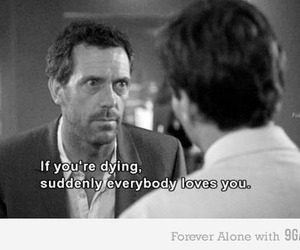 dying, dr house, and house image