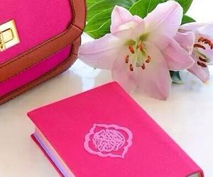 pink, quran, and allah image
