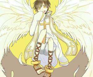 angel, art, and beautiful image