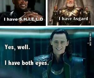 funny, loki, and Avengers image