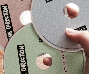 pastel, one direction, and cd image