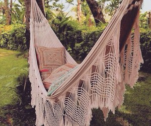 hammock, summer, and relax image