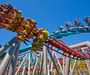 fun, photography, and Roller Coaster image