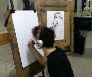 art, boy, and grunge image