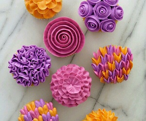 cakes, cupcakes, and foods image