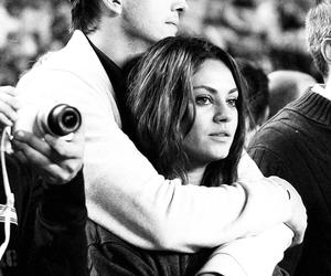 Mila Kunis, ashton kutcher, and couple image