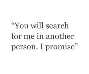 quote, love, and promise image
