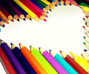 heart, pencil, and photography image