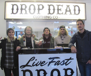 ta, drop dead clothing, and tonight alive image