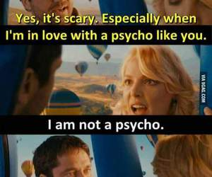 love, Psycho, and funny image