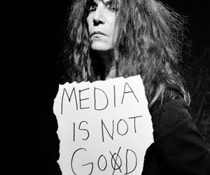 media and Patti Smith image