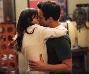 kiss, love, and new girl image