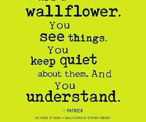 quotes, wallflower, and patrick image