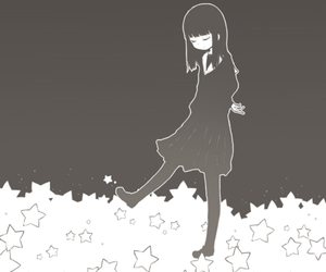 stars, girl, and anime image