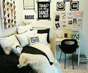 decor, bedroom, and room decor image