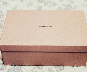 miu miu, fashion, and box image