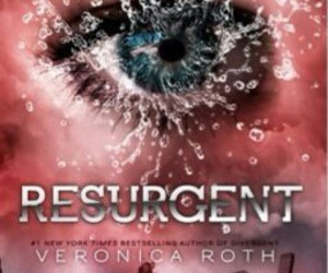 divergent, insurgent, and veronica roth image