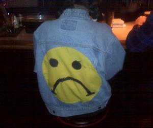 sad, grunge, and jacket image