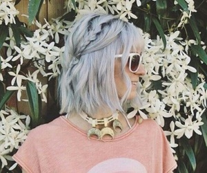 aesthetic, silver, and style image